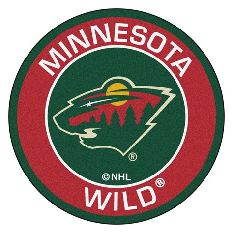 Minnesota Wild Gift Card - fanmats nhl minnesota wild red 2 ft 3 in x 2 ft 3 in round accent rug 18875 the