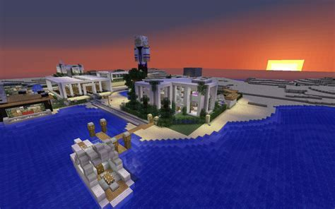 Modern House (Modern Village Coming Soon) Minecraft Project