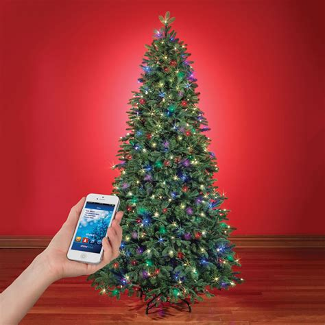 app controlled music and light show christmas tree the