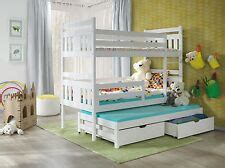 white wooden detachable bunk beds bunk beds with mattress beds bed frames ebay