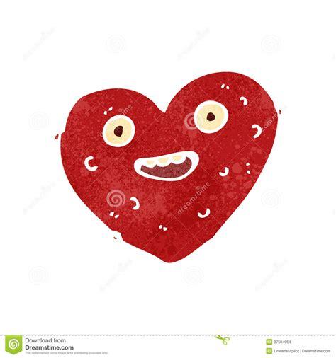 imagenes de corazones feos retro cartoon ugly heart stock images image 37584064