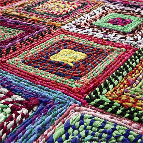 Tapis Multicolore Pas Cher by Tapis Rond Multicolore Pas Cher Id 233 Es De D 233 Coration