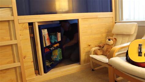 Secret Room Bed by Hack Bed Slide Secret Room Diy