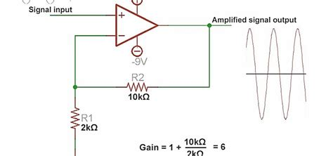 how to make a circuit for how to use an operational lifier to lify voltage and