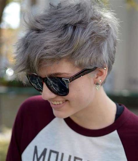 how to style grey pixie best pixie cuts the best short hairstyles for women 2016