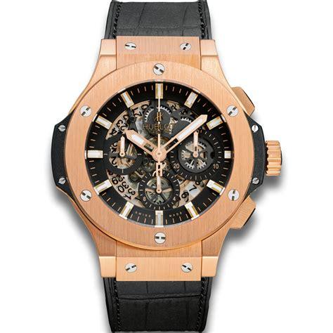 hublot aero gold big gold chronograph