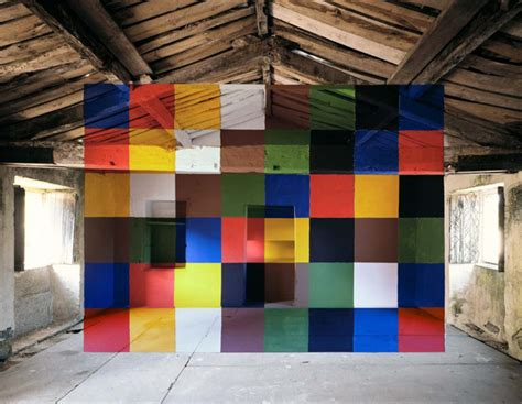Visible Light Communication Anamorphic Optical Illusions By Georges Rousse It S
