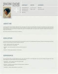 Cv Format Template by Clean And Stylish Photoshop Resume Template Open Resume