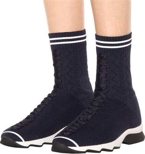 blac chyna jet sets  atlanta  fendi sock sneakers