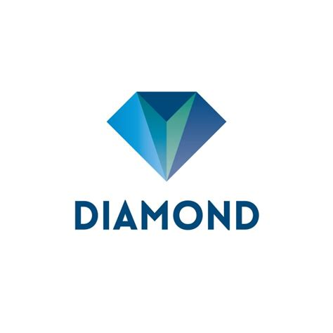 design logo diamond diamond logo design vector premium download