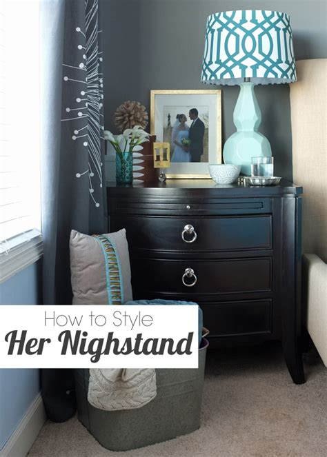 How To Decorate A Nightstand how to decorate nightstand teal and lime by jackie hernandez