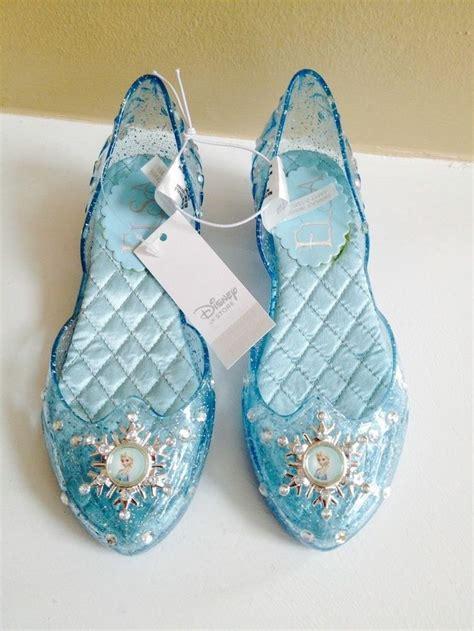 elsa frozen shoes for new disney frozen elsa light up shoes size 9 10 costume