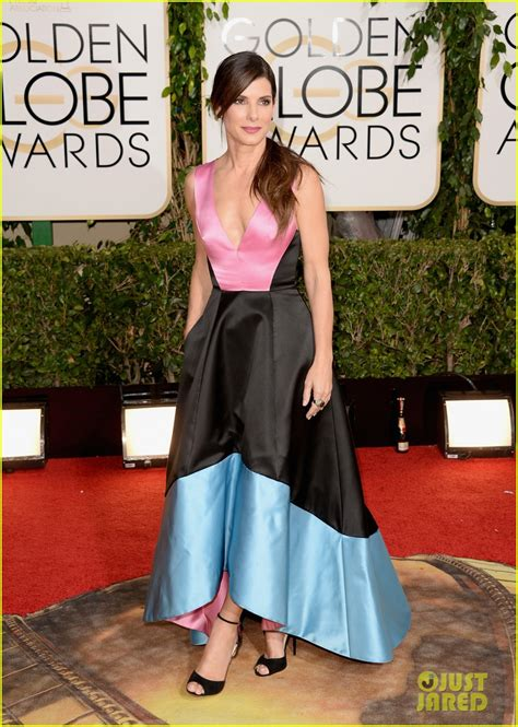 sandra bullock golden globes 2014 full sized photo of sandra bullock golden globes 2014 red