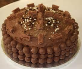 chocolate birthday cake with extra chocolate lovinghomemade