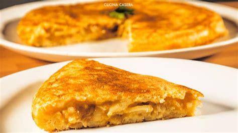 recetas de cocina tortilla de patatas tortilla de patatas con cebolla caramelizada recetas de