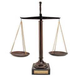 Personalized Wedding Vases Scales Of Justice Sculpture