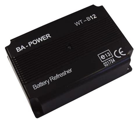 wt b12 desulfator for batteries 12v - West Marine Battery Charger Flo