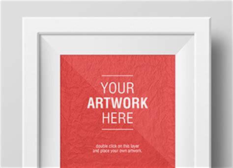 artwork frame psd mockups graphicburger