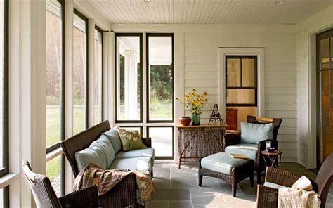 Sun Windows Decor Sun Room Farmhouse Porch Portland Maine By Whitten Architects