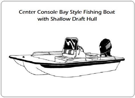 bay boats with shallow draft boat covers for center console bay style fishing boat with