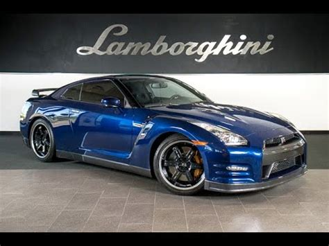 nissan gtr black edition blue 2014 nissan gt r black edition metallic blue lt0697 youtube