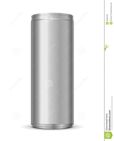 vector illustration of energy drink can stock vector