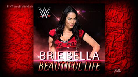 wwe quot beautiful life quot itunes release by cfo brie bella
