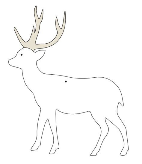 reindeer template cut out glittered paper cutout ornaments engaged in classes