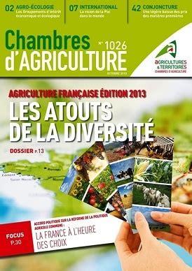 chambre d駱artementale d agriculture la revue chambres d agriculture sur la pac