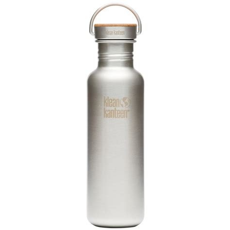800 ml hydration bottle klean kanteen reflect 800ml bottle unibody bamboo cap