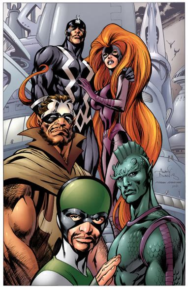 film marvel inhumans the inhumans leave their exile for the big screen the