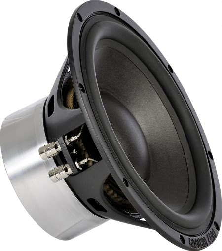 ground zero reference gzpw 250 25cm subwoofer