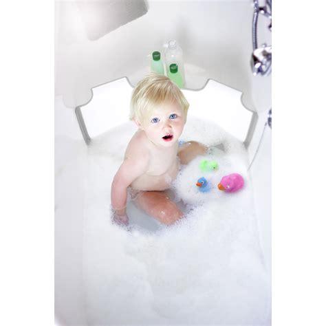 r 233 ducteur de baignoire babydam blanc gris de babydam