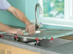 How To Install Kitchen Countertops How To Install A Kitchen Sink In A Laminate Or Wood Countertop How Tos Diy