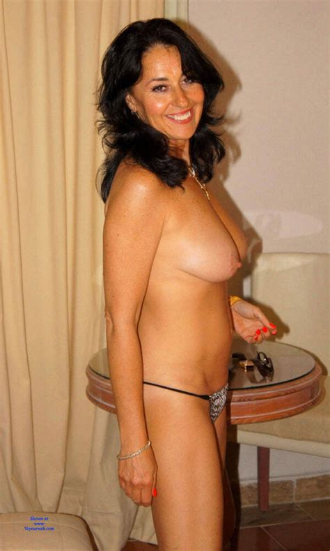 Really Hot Brunette Milf With Big Tits March 2020