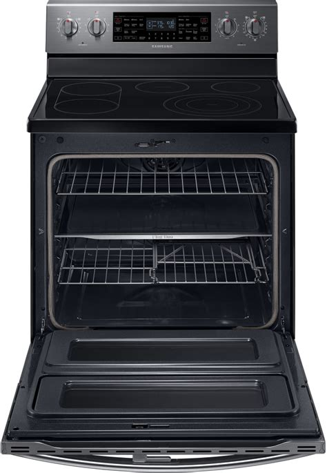 samsung ne59j7850wg 30 inch freestanding electric range with 5 9 cu ft flex duo convection