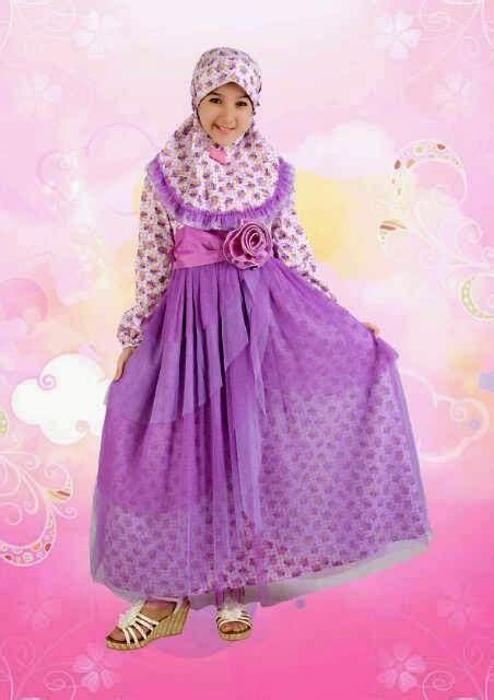 Baju Gamis Anak Baju Anak Perempuan Baju Muslim Anak 2 20 contoh model baju muslim anak perempuan terbaru