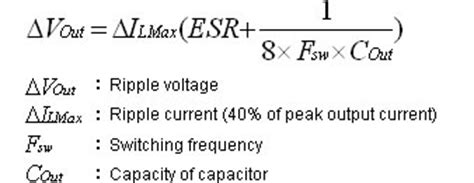 formula for esr of capacitor exles of replacements murata manufacturing co ltd