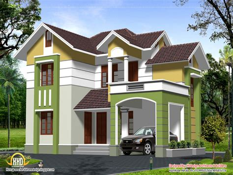 small 2 story contemporary house plans