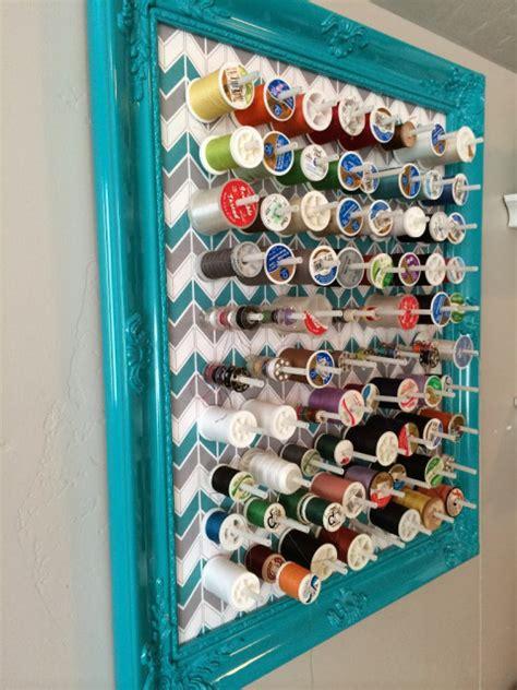 Diy Thread Rack by Craft Room Storage And Organization Ideas Craft Remedy