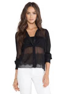 aliexpress buy huafei new fashion aliexpress buy 2015 new fashion transparent blouse o neck sleeve blouses