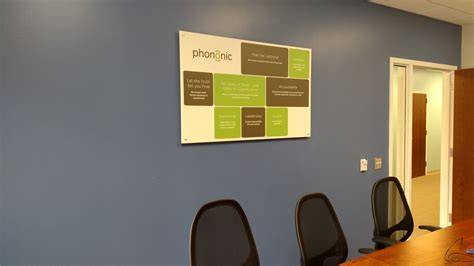 Office Value Office Signs Phononic Devices Values Posters Signergy