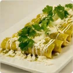 enchiladas verdes recipe dishmaps