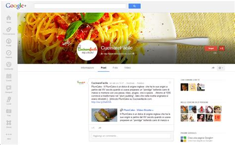siti per cucinare cucinare 232 social web marketing aziende