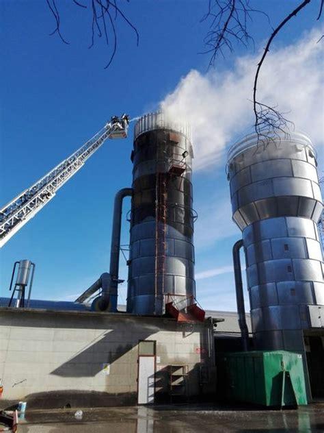 fabbrica sedie manzano incendio silo nella fabbrica seta di sedie a manzano
