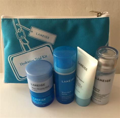 Laneige Trial Kit laneige mineral water based skincare products