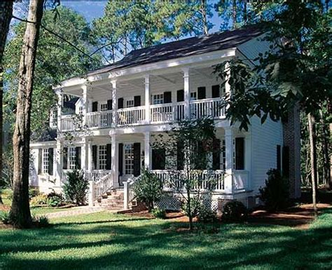 southern plantation style homes plan 32449wp four or three porches porches house and i