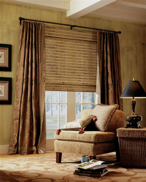 drapes and shades sedona home office interiors window blinds draperies and