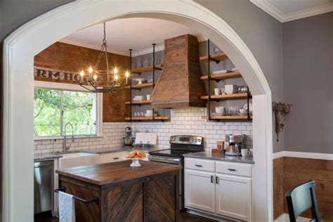 open kitchen shelving culture scribe simple ways to copy joanna gaines decorating tips from