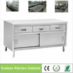 Stainless Steel Restaurant Kitchen Cabinets Cabinet Kitchens Restaurant Equipment Stainless Steel Kitchen Cabinets With Drawers Buy